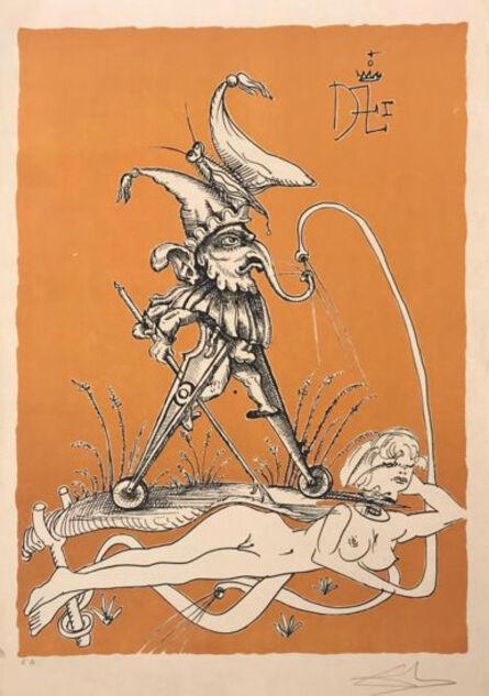 Salvador Dalí, 'Little Elephant's Pitch', 1973
