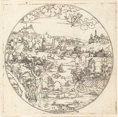 Master S, 'Apollo and Daphne', 1582