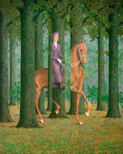 René Magritte, 'Le Blanc-Seing', 1965