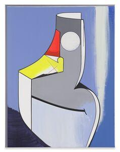 Thomas Scheibitz, 'Allegorische Figur', 2015