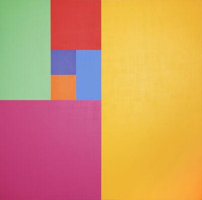 Mario Yrisarry, 'Septenary Yellow', 1974