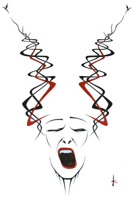 Lakshmi Mohanbabu, 'Yawn – Disinterested Introspection', 2015