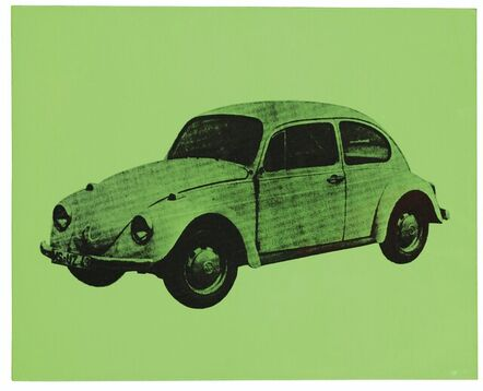 Andy Warhol, 'Volkswagen bug (Green)', 1977