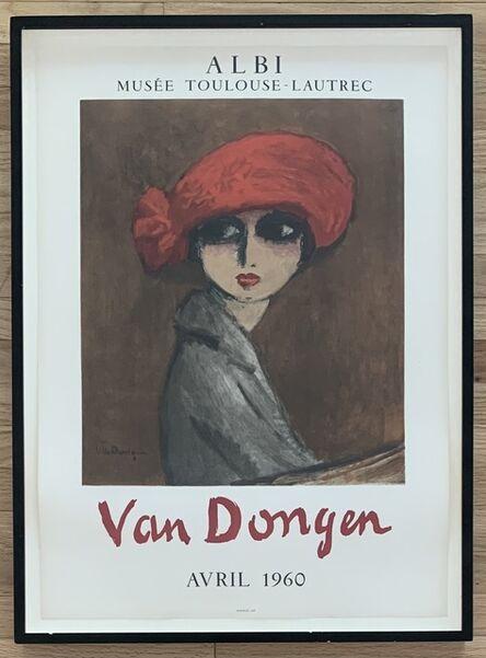 Kees van Dongen, 'Le Coquelicot', 1960