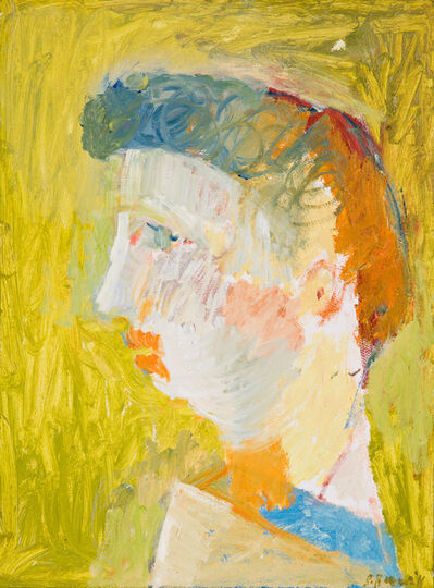 Stephen Benwell, 'Portrait after a bust', 2015