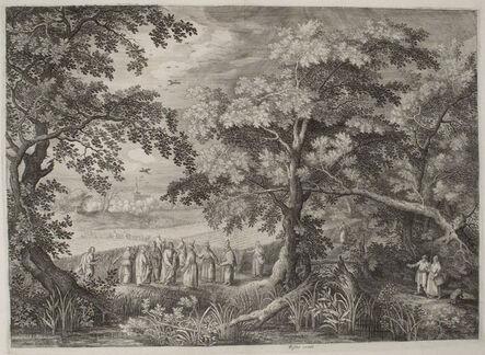 Jan Van Londerseel, 'Christ and His Disciples Harvesting on the Sabbath', ca. 1600-1610