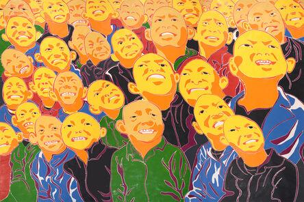 Fang Lijun 方力钧, '2016', 2016