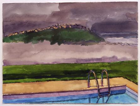 Graham Nickson, 'Pool Cloud', 2002