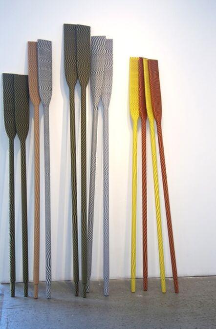 Alex Zecca, 'Untitled (oars)', 2015