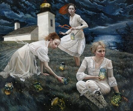 Andrea Kowch, 'Light Keepers - 1st Limited Edition Framed Hand Signed Print', 2019