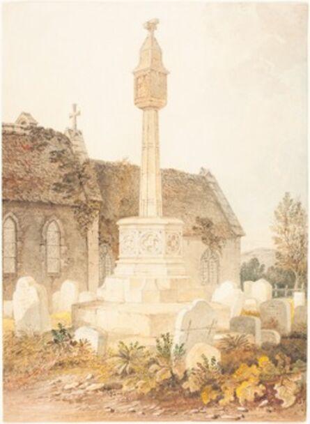 John Chessell Buckler, 'Monument in a Church Cemetery', 1816