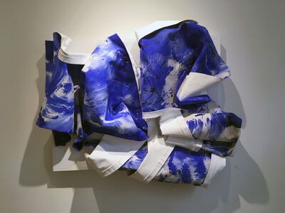 Bette Klegon Halby, 'Out of the Blue – Water is Life #5', 2016