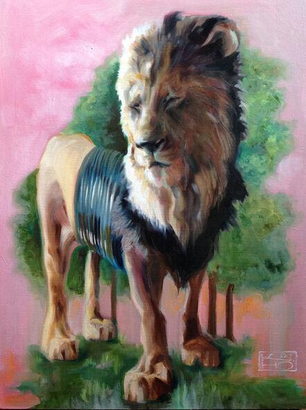Kelly Houghton, 'Lion - Powerful Flexibility', 2017