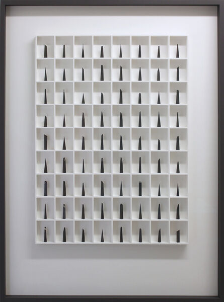 Paul Fry, '72 Pieces of Graphite (The Edge of Silence)', 2017