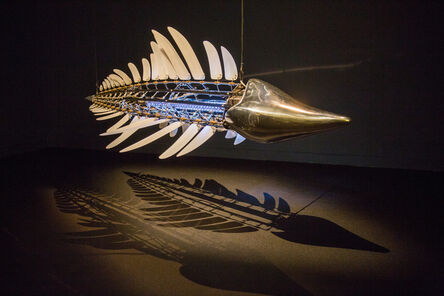 U-Ram Choe, 'Ultima Mudfox - Scientific Name: Anmoropral Delphinus delphis Uram', 2002