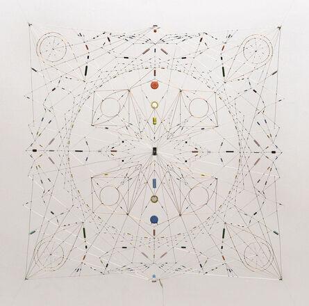 Leonardo Ulian, 'Random relay - Technological mandala #42 ', 2014