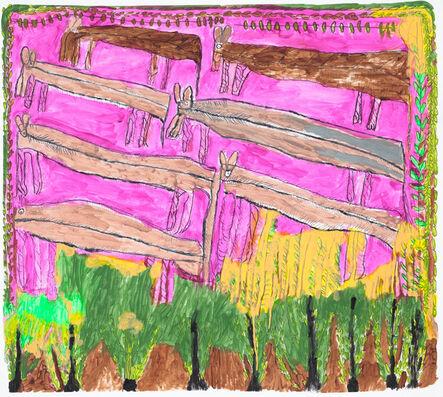 Jose Nunez, 'Untitled (Pink Horses)', 2015
