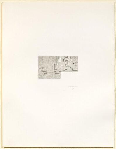 Eduardo Chillida, 'Enda V', 1976