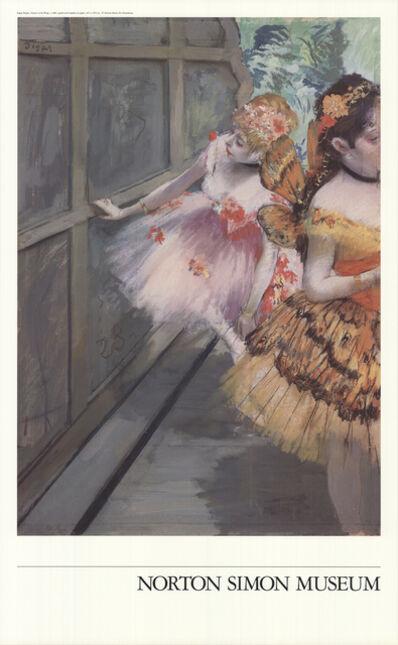 Edgar Degas, 'Dancers in the Wings', 1950