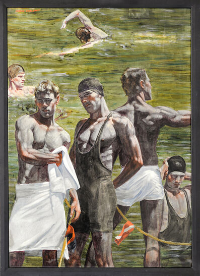 Mark Beard, '[Bruce Sargeant (1898-1938)] In and Out of the Water', n.d.