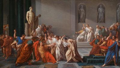Vicenzo Camuccini, 'Death of Julius Caesar ', ca. 1825