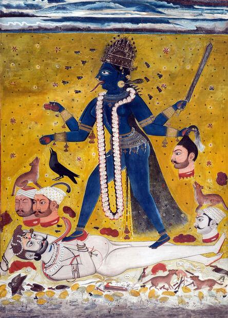 Indian Deccan Folk Artist, 'Kali'
