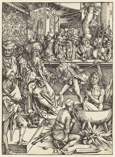 Albrecht Dürer, 'The Martyrdom of Saint John, from: The Apocalypse (B. 61; M., Holl. 164; S.M.S. 112)', ca. 1496-97