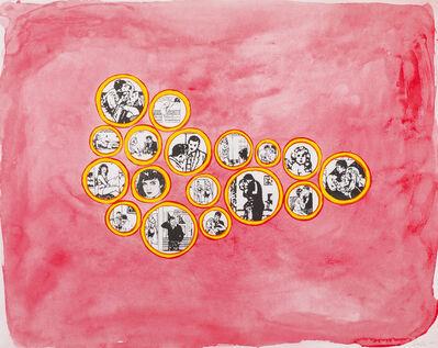 Leda Catunda, 'Lovers from Projeto Night Club', 2014