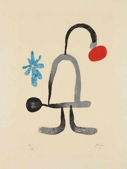 Joan Miró, 'A toute épreuve: one plate', 1958