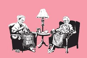 Banksy, 'Grannies (Signed)', 2006