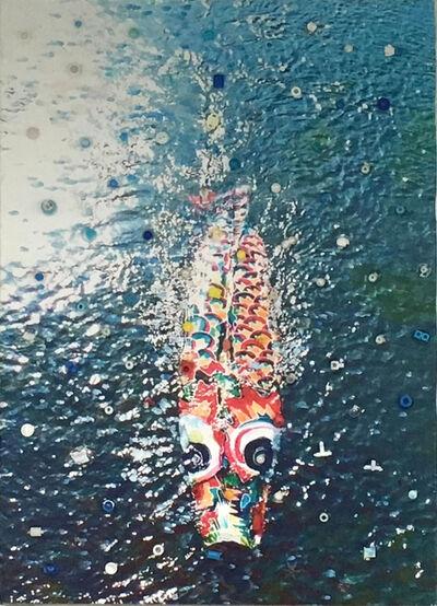 Hiroshi FUJI, '1983 Kamo River-koi+dgi65', 2018