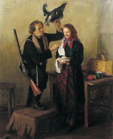 Aleksandr Timofeevich Danilichev, 'Homecoming', 1948