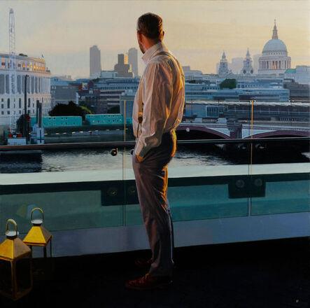 Iain Faulkner, 'First Light, Blackfriars Bridge ', 2018