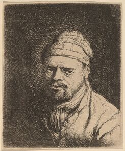 Jan Lievens, 'Bust of a Cook with Cap'