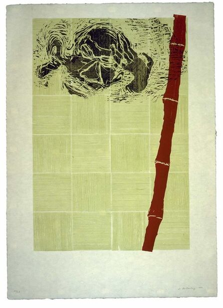 Susan Rothenberg, 'Red Bamboo', 1991