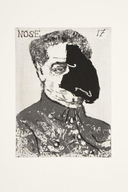 William Kentridge, 'Nose 17', 2009