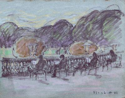 Joseph Plaskett, ' In the Luxemburg Gardens (33B)', 1988