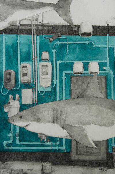 Rin Kuroki, 'HAZAMA-21 Great white shark', 2019