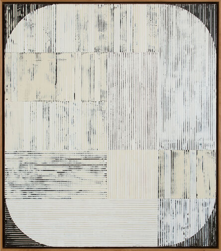 Sunny Taylor, 'Oval with White ', 2016