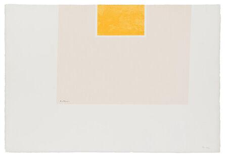 Robert Motherwell, 'London Series II: Untitled (Orange/Pink)', 1971
