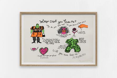 Niki de Saint Phalle, 'Why don't you love me?', 1968