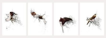 Catalina Schliebener, 'Heads Series Polyptych', 2016