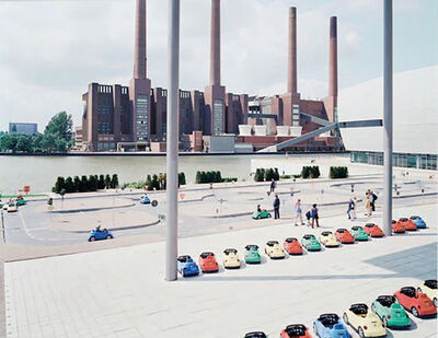 Massimo Vitali, 'VW Lernpark', 2006