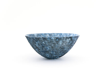 Momoyo Omuro, 'Pate de Verre Bowl ( blue )', 2017