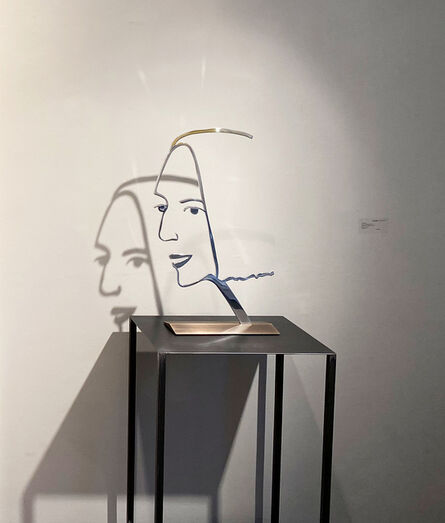 Alex Katz, 'Ada 2 (Outline)', 2019