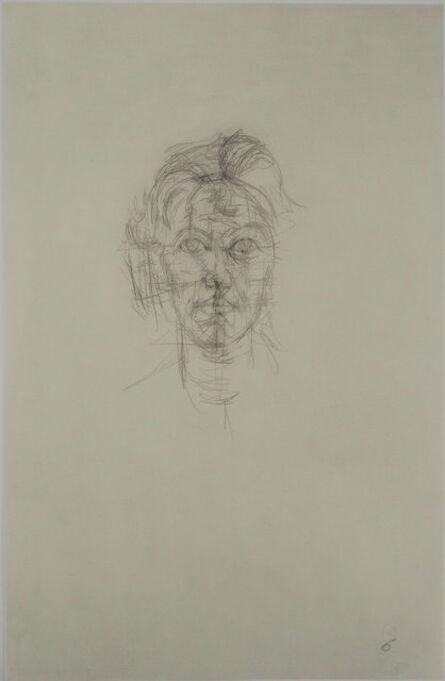 Alberto Giacometti, 'Portrait de jeune homme', 1963