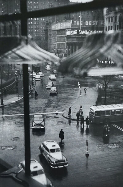 Louis Faurer, 'Union Square, NYC, (From window of Orbach's)', 1948