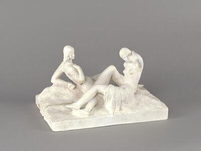 Fritz Wotruba, 'Female Double Figure III', 1935