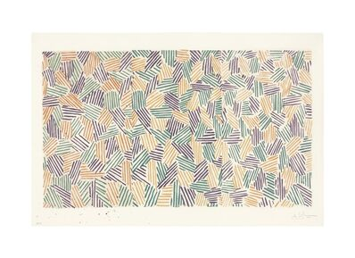 Jasper Johns, 'Scent', 1976