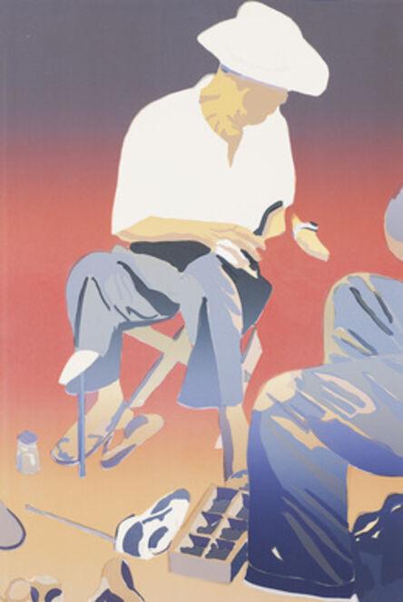 Erik A. Frandsen, 'Shoemaker, Chinatown New York'